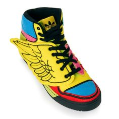 buy popular d44c1 9f365 adidas ObyO Jeremy Scott WINGS (SUN POPPY BLACK) Adidas Jeremy Scott Wings