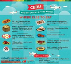 Cebu: The Lechon Capital of the World Phillipines Travel, Philippines Cebu, Philippines Travel Guide, Bohol, Palawan, Native Restaurant, Places To Travel, Travel Destinations, Lechon