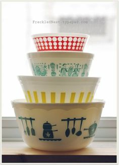 for the LOVE of Pyrex <3