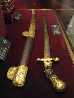 Charlemagne's Sword.   Charlemagne 2 April 742/747/748 – 28 January 814), also known as Charles the Great or Charles I, was the King of the Franks from 768, the King of Italy from 774, and from 800 the first emperor in western Europe since the collapse of the Western Roman Empire three centuries earlier. The expanded Frankish state he founded is called the Carolingian Empire.