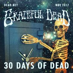 Official 2016 30 Days of Dead Cover Art