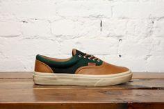 Vans Era CA - Brown/Green Flannel