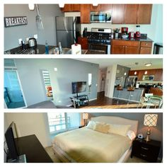 Our 1 bedroom Streeter Place apartments in #Chicago.