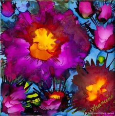 Free Online Class: Alcohol Inks Basics Welcome to this free class. This class or some experience will be a foundation for the more advance techniques to be releasedApril 2, 2016 as an online cours…