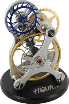 10X real size model of balance wheel
