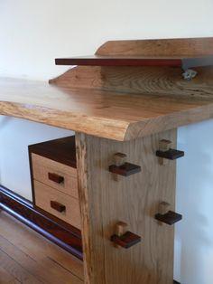 Nakashima Inspired Writing Desk