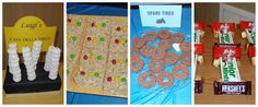 Pinewood derby treats!  Made by Trissh, Sherrie and Susy. Tiger Cub, Kid Parties, Pinewood Derby, Cub Scouts, Cubs, Treats, Party, Sweet Like Candy, Goodies