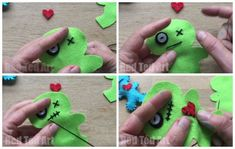 DIY Voodoo Pincushion - too cute!