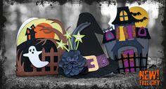 Haunted Hemlock Cards SVG Kit
