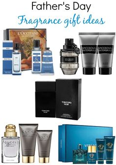 Father's Day Fragrance gift ideas via @BeautyTidbits