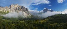 "Val Gardena - Panoramic view of Val Gardena and Puez-Odle mountain range above Ortisei and St. Christina villages, Dolomites, Italy  FOLLOW ME : website: <a href=""http://haidamac.com.ua/"">haidamac.com.ua</a> fb: <a href=""https://www.facebook.com/haidamacphoto/"">haidamacphoto</a> Instargam: <a href=""https://www.instagram.com/haidamac_/"">haidamac_</a>"