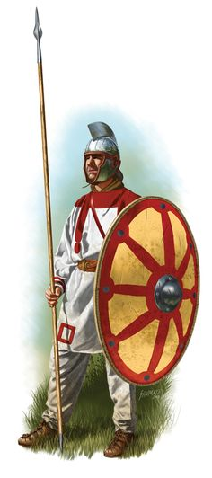 Roman soldier, V Century AD.