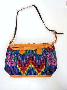 Handmade purse from Chiapas, Mexico