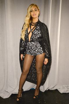 Beyoncé looks fierce at the Tidal launch event in New York City.