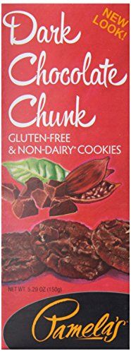 Pamela's Products, Organic Dark Chocolate Chocolate Chunk Cookies, 5.29 oz Chocolate Chunk Cookies, Chocolate Chocolate, Organic Dark Chocolate, Milk Protein, Candy Gifts, Beef, Products, Meat, Gadget