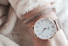 Ou ? * Cluse Minuit Mesh Rose Gold/White                                                                                                                                                                                 More