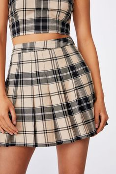 Pleated Skirt | Women's Fashion & Accessories | Factorie Pleated Skirt, Skater Skirt, Midi Skirt, Tennis Skirts, Sports Luxe, Plaid Skirts, High Waisted Shorts, Trendy Outfits, Fashion Accessories