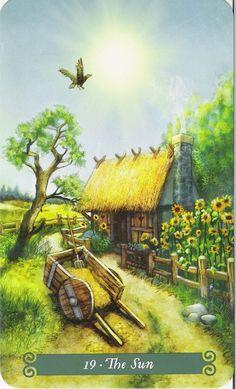 The Sun - Green Witch Tarot