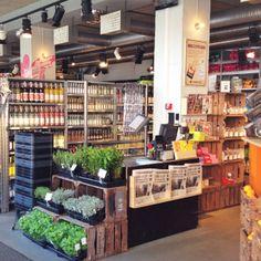 The supermarket section at Urban Deli- http://magontheblog.com/2014/04/01/hotspots-stockholm/