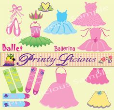 $3 Gorgeous Ballet dress ups! From Tutu's to leg warmers to tiara'a and shoes...enjoy