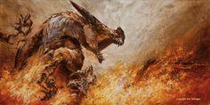Глаурунг в Нирнаэт Арноэдиад Eric Velhagen's online portfolio; a painter from Albuquerque, NM.