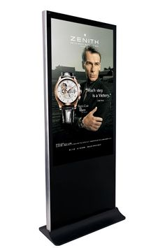 """LCD advertising display, touch and non touch digital signage, 40"""", 46"""", 50"""" and 55"""" digital signage kiosks"""