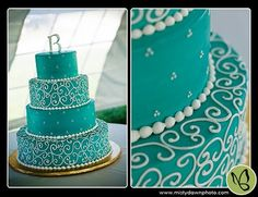 #tiffany #blue #cake