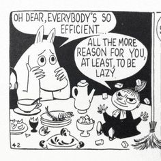 Moomin comic strips by Tove Jansson Les Moomins, Moomin Valley, Tove Jansson, Oui Oui, Grafik Design, Comic Strips, Illustration Art, Childhood, Doodles