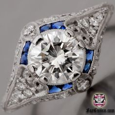 Hearts & Arrows Engagement Ring - Certified 1.03ct I/VS Diamond