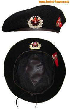 Russian / Soviet Military MARINES black Beret hat for sale - buy online Army Beret, Military Beret, Military Cap, Military Insignia, Military Surplus, Marines Uniform, Black Panthers Movement, Soviet Navy, Black Berets