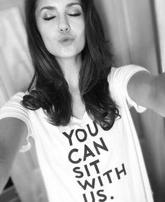 Nina Dobrev is a bright light! #youcansitwithus #antibullying #bekind