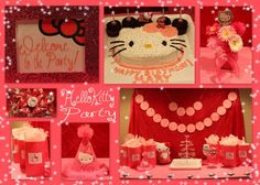Here's ours! Hello Kitty Party