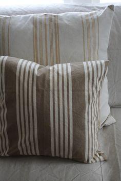 Ticking pillows, Farmhouse 5540