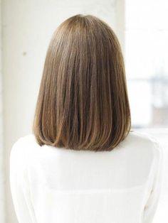 Pin on ヘアスタイル Asian Short Hair, Medium Short Hair, Short Wavy Hair, Medium Hair Cuts, Girl Short Hair, Medium Hair Styles, Short Hair Styles, Long Bob Hairstyles, Pretty Hairstyles
