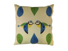 birdy cushion £20 from Magpie   http://magpieline.com/product/91/birdy-cushion-blue-tit.html#