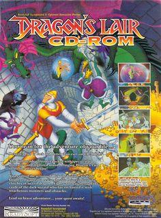 Dragon's Lair CD-ROM (PC) 1993.