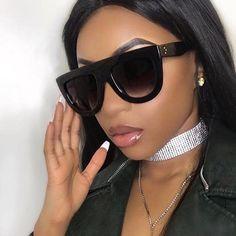 0504ff14ec loomrack Oversized Glamrock Shades Sunglasses Celebrity Sunglasses