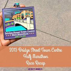 13.1 miles is much better with friends! Here is my 2015 Bridge Street Town Centre Half Marathon Race Recap! | My Pretty Brown Fit #BridgeStreetHalf