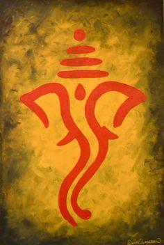 GANESH PAINTINGS, GANESH ART, HINDU ART                                                                                                                                                                                 More