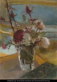 ❀ Blooming Brushwork ❀ - garden and still life flower paintings - Edouard Vuillard Edouard Vuillard, Art Floral, Maurice Denis, Paintings I Love, French Paintings, Flower Paintings, Still Life Art, Claude Monet, Oeuvre D'art