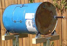 composters homemade 55 gal steel drum – Bing Images - All About Garden Compost Barrel, Garden Compost, Diy Compost Tumbler, Hydrangea Care, Steel Drum, Square Foot Gardening, Garden Care, Kraut, Garden Projects