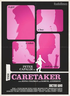 Stuart Manning creates another winner: Doctor Who series 8: The Caretaker - see our exclusive poster