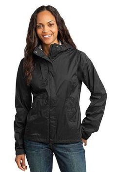 Eddie Bauer  Ladies Technical Rain Shell2XL Black *** Visit the image link more details.(This is an Amazon affiliate link and I receive a commission for the sales)