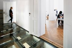 reiulf ramstad's oslo office features a transparent glass floor - designboom | architecture