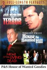 The Terror: House on Haunted Hill: Night of the Living Dead - DVD.