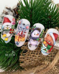 Christmas Nail Designs, Christmas Nail Art, Simple Christmas, Xmas Nails, Holiday Nails, Winter Nail Art, Winter Nails, Nail Noel, Free Letterhead Templates