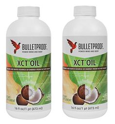 Bulletproof XCT Oil 16 oz Pack of 2 With Convenient Measuring Spoon Set * Want additional info? Click on the image.