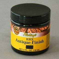 ANTIQUE FINISH DARK BROWN 118ML US