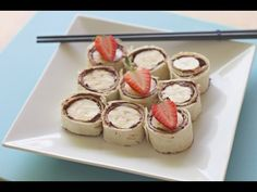 How to make Nutella and banana sushi - Kidspot