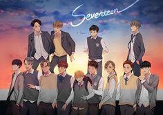 #seventeen #세븐틴 #kpop #fanart